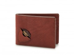 Bosca Guitar Pick Wallet 82-158 158 Dark Brown