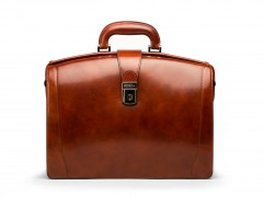 Bosca Small Partners Briefcase 821-27 27 Amber