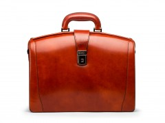 Bosca Small Partners Briefcase 821-32 32 Cognac