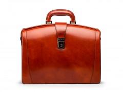 Bosca Small Partners Briefcase 821-32 32 Cognac