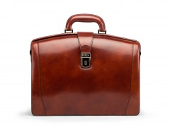 Bosca Small Partners Briefcase 821-58 58 Dark Brown