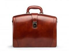 Bosca Small Partners Briefcase 821-58 58 Dark Brown