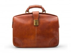 Bosca Soft Partners Briefcase 822-217 217 Amber