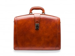 Bosca Large Partners Briefcase 823-27 27 Amber