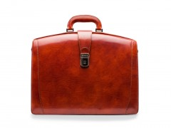 Bosca Large Partners Briefcase 823-32 32 Cognac