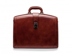 Bosca Large Partners Briefcase 823-58 58 Dark Brown