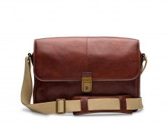 Bosca Dolce Messenger Bag 826-218 218 Dark Brown