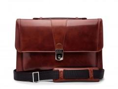 Bosca Thin Envelope Briefcase 829-58 58 Dark Brown