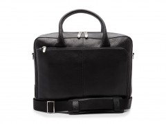 Bosca Slim Brief Bag 839-148 148 Black