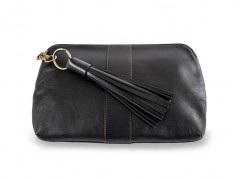 Bosca Mattie Zip Pouch 8481-146 146 Black