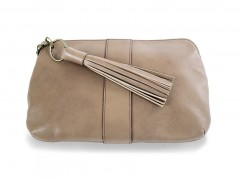 Bosca Mattie Zip Pouch 8481-147 147 Gray