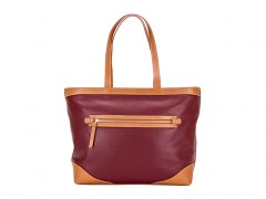 Bosca Madison Tote 853-181 181 Amarena