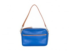 Bosca Jewel Tone Mini Bag 854-182 182 Lapis Jewel Tone Mini Bag-182 Lapis