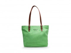 Bosca Tuscan Tote Bag 855-376 376 Light Green