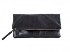 Petunia Foldover Mini Bag-146 Black