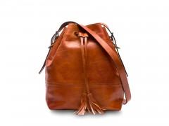 Bosca Classic Bucket Bag 858-217 217 Amber