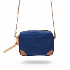 Bosca La Carta City Cross Strap Bag 859-911 911 Cobalt
