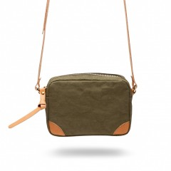Bosca La Carta City Cross Strap Bag 859-912 912 Olive