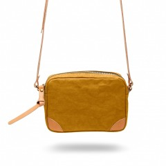 Bosca La Carta City Cross Strap Bag 859-913 913 Okra