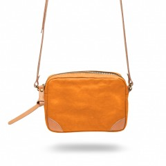 Bosca La Carta City Cross Strap Bag 859-914 914 Tangerine