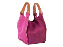 The Evelyn Bag-352 Fuchsia