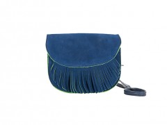 Mini Suede Valentina-351 Blue