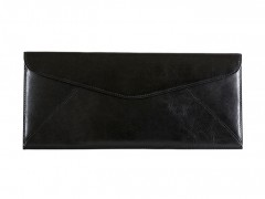 Bosca Leather Envelope 905-59 59 Black Leather Envelope-59 Black