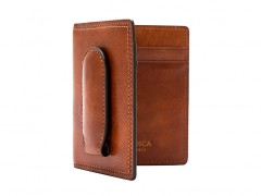Front Pocket Wallet w/Magnetic Clip-217 Amber
