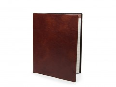 Bosca Soft Cover Portfolio 922-218 218 Dark Brown