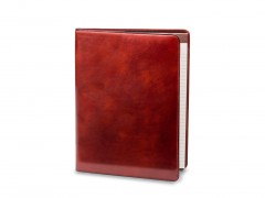 Bosca Leather Portfolio 922-32 32 Cognac 8 1/2 X 11 Writing Pad Cover