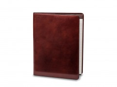 Bosca Leather Portfolio 922-58 58 Dark Brown 8 1/2 X 11 Writing Pad Cover