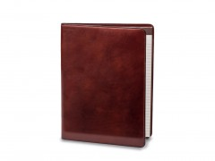Bosca Deluxe Leather Portfolio 942-58 58 Dark Brown