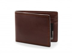 Bosca Executive I.D. Wallet 95-218 218 Dark Brown