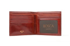 Executive ID Wallet - Cognac - Open View