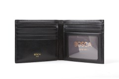 Executive ID Wallet - Black - Open View