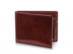 Bosca 5 Pocket Wallet W/ I.D. 9512-58 58 Dark Brown