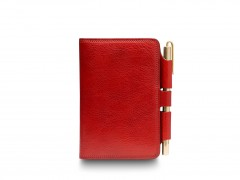Bosca Field Journal 955-212 212 Red Dolce