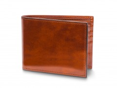 Bosca Bifold Wallet With Card / I.D. Flap 97-27 27 Amber