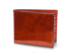 Bosca Bifold Wallet With Card / I.D. Flap 97-32 32 Cognac