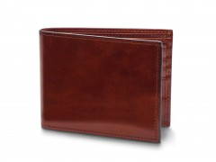 Bosca Bifold Wallet With Card / I.D. Flap 97-58 58 Dark Brown