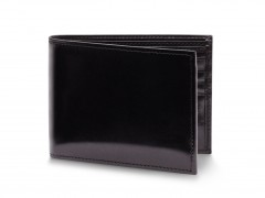 Bosca Bifold Wallet With Card / I.D. Flap 97-59 59 Black