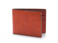 Bosca 8 Pocket Deluxe Executive Wallet 98-132 132 Cognac