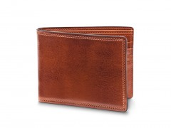 Bosca 8 Pocket Deluxe Executive Wallet 98-217 217 Amber