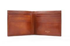 8 Pocket Wallet - Amber - Front Open