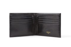 8 Pocket Wallet - Black - Open View