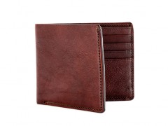 8 Pocket Deluxe Executive Wallet-658 Dark Brown